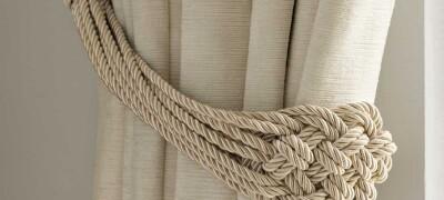 Как можно красиво подвязать шторы