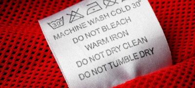 Виды значков на бирках одежды и их расшифровка