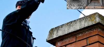 Очистка дымохода частного дома различными способами