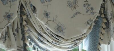 Выбор и применение штор в английском стиле