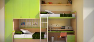 Использование мебели в интерьере маленькой комнаты