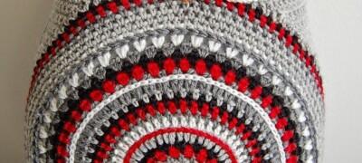 Вязание подушки «Совы своими руками»