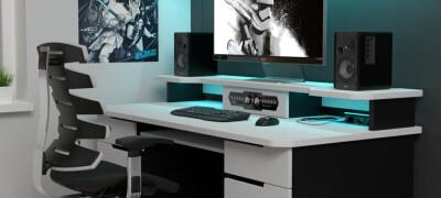 Компьютерный стол в интерьере — дизайн и расположение в интерьере