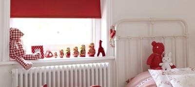 Выбор и установка рулонных штор в детской комнате