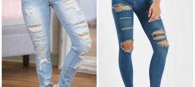Делаем дырки и потертости на джинсах своими руками