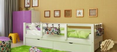 Описание и правила выбора кровати с бортиками для ребенка от 2-х лет