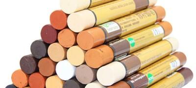 Восковой карандаш — средства для реставрации мебели