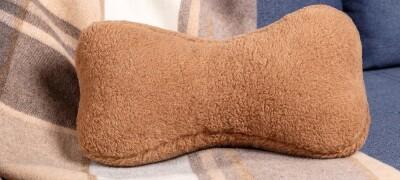 Подушка косточка в домашних условиях