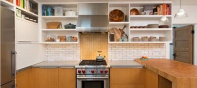 Особенности и способ крепления кухонных шкафов на планку
