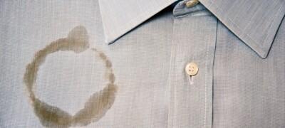 Отстирываем жирные пятна с одежды