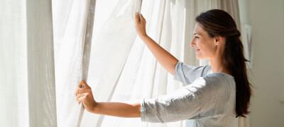 Как правильно отбелить шторы