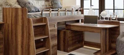 Кровать-чердак для детей — описание конструкции и правила выбора
