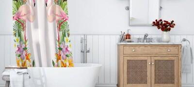 Разновидности и выбор штор для ванной