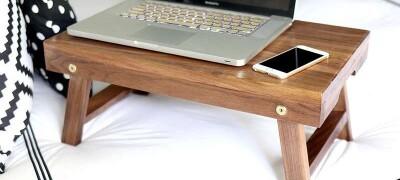 Изготовление столика для ноутбука своими руками