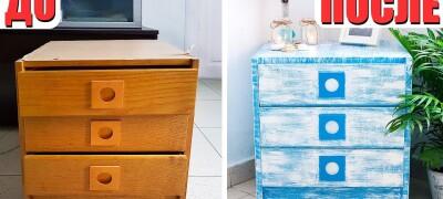 Как отреставрировать мебель из ДСП своими руками