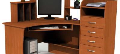 Изготовление компьютерного стола своими руками