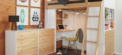 Конструкция кровати-чердака, разновидности и правила выбора