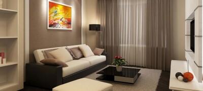 Использование диванов в интерьере комнаты
