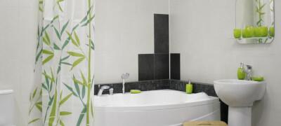Как установить штангу для шторы в ванной