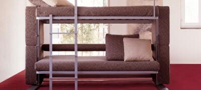 Особенности двухъярусного дивана трансформера