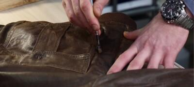 Чем покрасить кожаную куртку в домашних условиях
