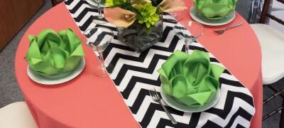 Выбор и применение салфеток для сервировки стола