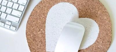 Как сделать коврик для мыши в домашних условиях