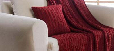 Накидка на диван и кресло крючком