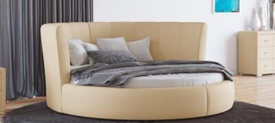 Особенности конструкции круглой кровати