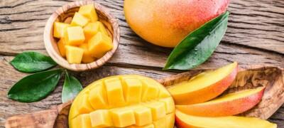 Способы очистки и нарезания манго