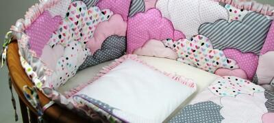 Защита и бортики в кроватку своими руками
