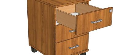Пошаговая инструкция по сборке тумбочки с выдвижными ящиками
