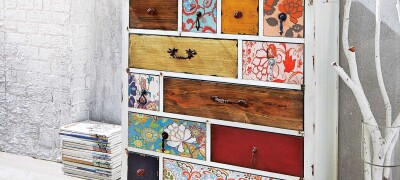 Как декорировать старую мебель своими руками
