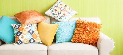 Поролоновые подушки своими руками