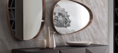 Оформление прихожей зеркалами