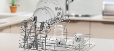 Кухонная сушка для посуды в шкаф