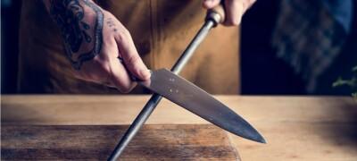 Варианты и правильная схема заточки ножей