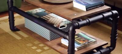 Изготовление мебели из полипропиленовых труб