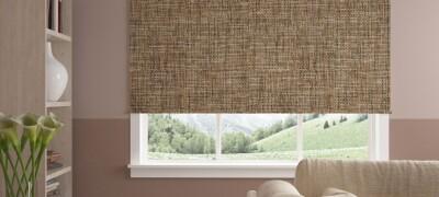 Особенности ткани для рулонных штор