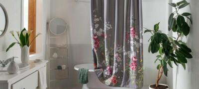 Шторы для ванной комнаты из текстиля