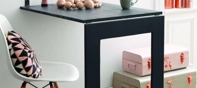 Описание и изготовление выдвижного стола своими руками