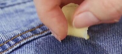 Как очистить пластилин с одежды