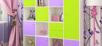 Мебель для хранения игрушек в детской