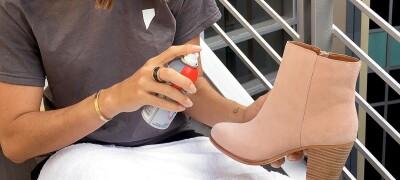 Способы чистки замшевой обуви в домашних условиях