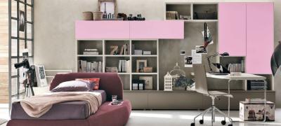 Дизайн комнаты и мебели для девочки подростка