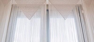 Как своими руками сделать шторы макраме