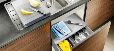 Разновидности шкафов под мойку на кухню