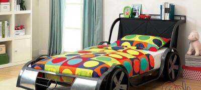 Описание кровати-машинки для мальчиков