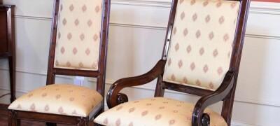 Обтяжка стульев дома своими руками