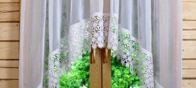 Описание и пошив шторки арки для кухни